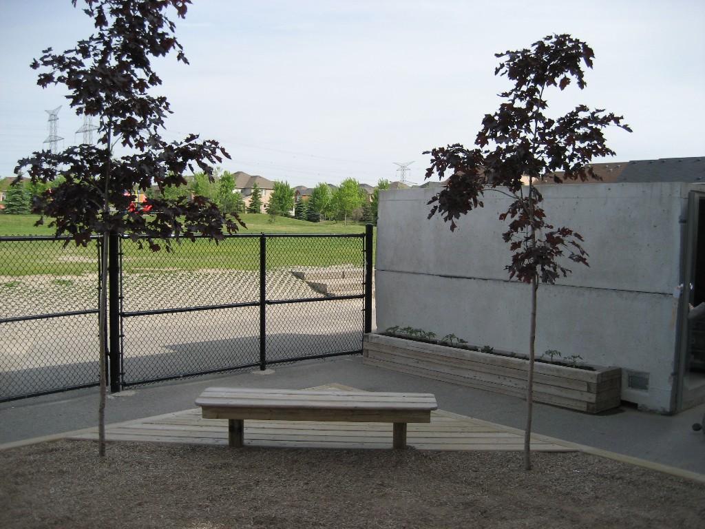 Corner Bench-Deck Combo