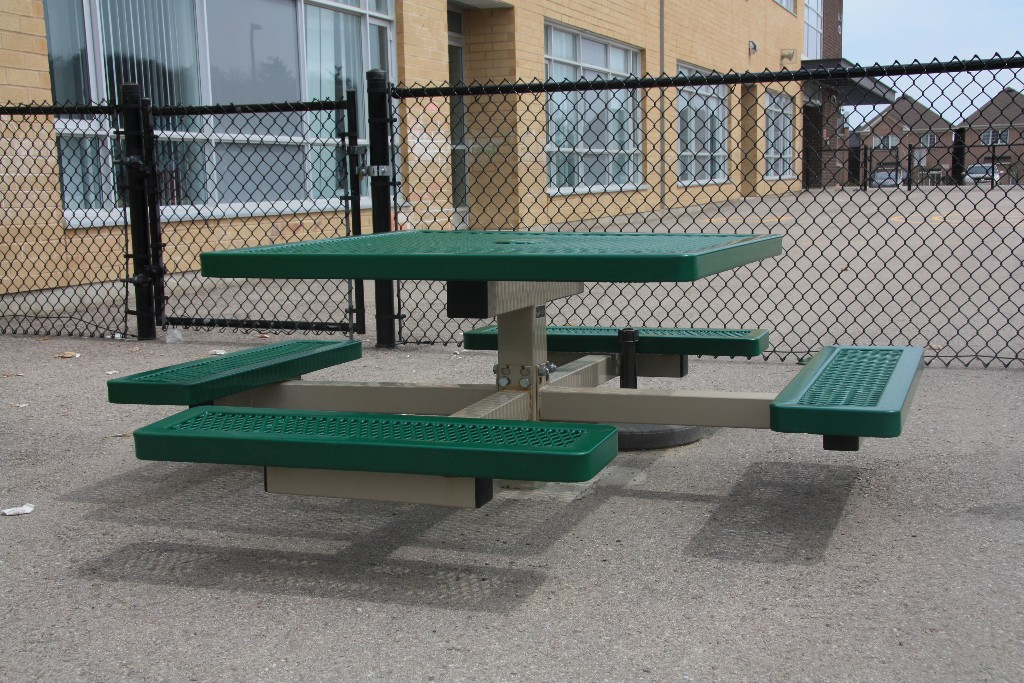 Steel Picnic Table