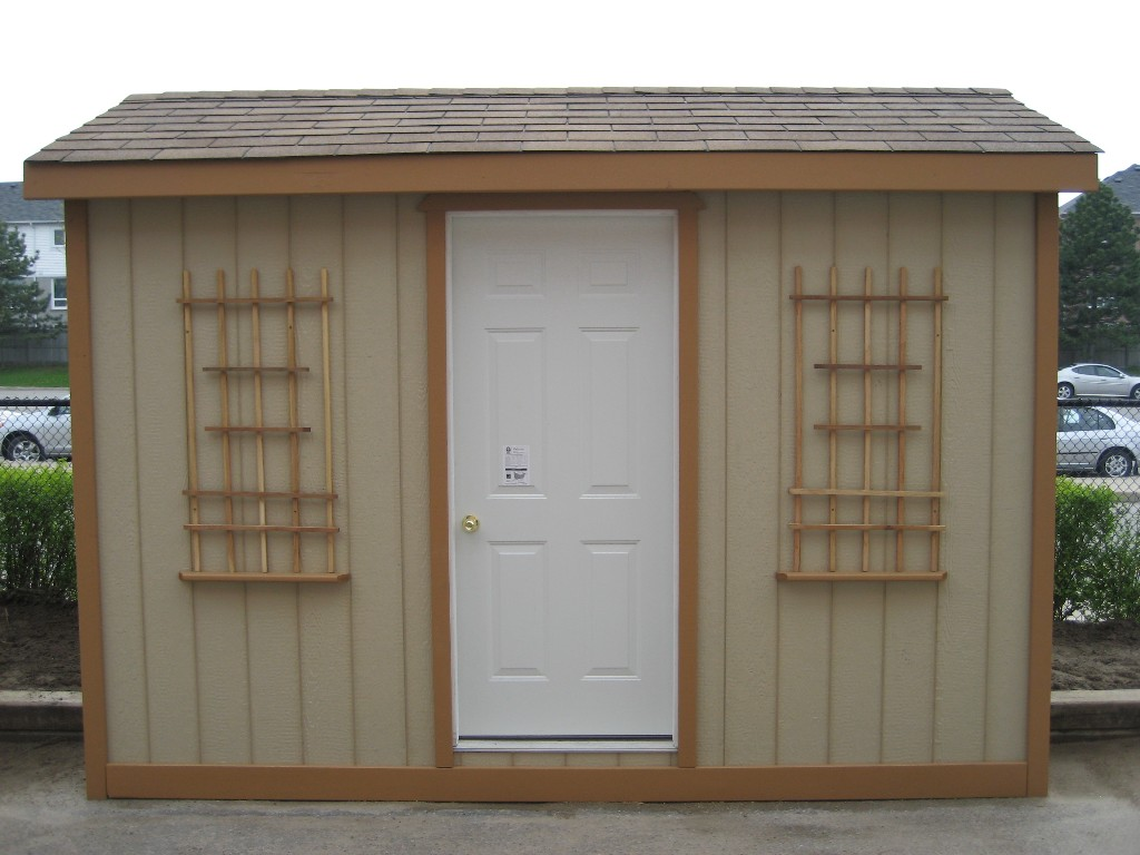 8x10 Shed (front)